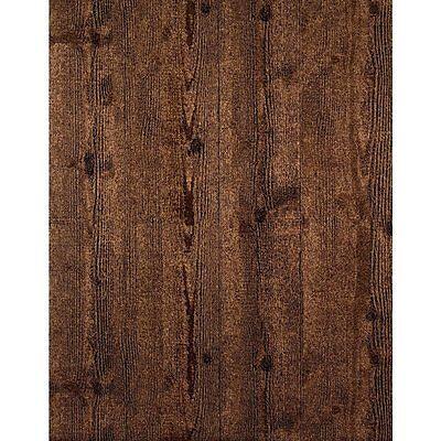 York Enchantment Embossed Dark Wood Planks with Sheen Wallpaper ET2047