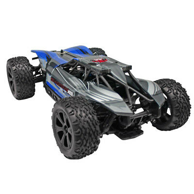 Redcat Racing Blackout XBE 1/10 Scale Brushed Electric RC Monster Buggy, Blue 10 Scale 4wd Electric Buggy