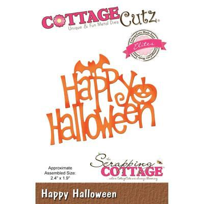 CottageCutz Elites Dies Halloween Themes CHOOSE ONE From 5 Designs ~ NIP