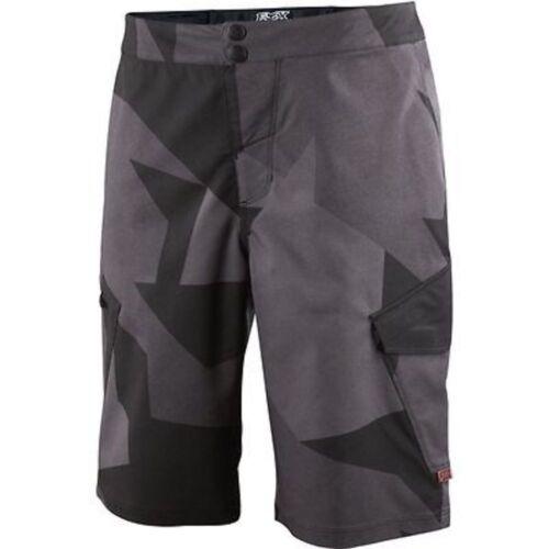 Fox Ranger Cargo Print Mtb Shorts Black Camo 36