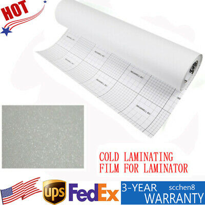 Cold Laminating Film 0.6931yard 3mil Roll Cold Lamination Film For Maps Signs