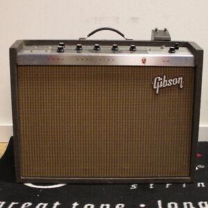 gibson hawk vintage electric guitar amp ga 25 rvt amplifier 60 039 s ebay. Black Bedroom Furniture Sets. Home Design Ideas