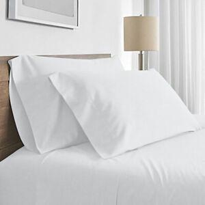 Valeria 1000TC Ultra Soft Double Bed Sheet Set - White