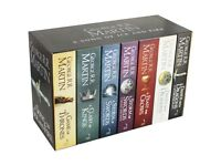 A Song of Ice and Factory Sealed Fire Box Set with maps of Westeros.