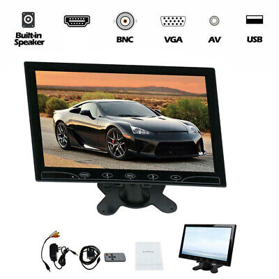 10 Inch TFT Screen CCTV Monitor Security Surveillance Monitor AV/VGA Input