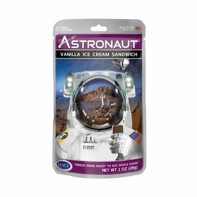 Astronaut Vanilla Ice Cream Sandwich Freeze Dried NASA Space Food Novelty Gift for sale  Shipping to Canada