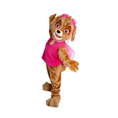Pink Dog Patrol Helicopter Mascot Character Costume Birthday Ideas Cosplay - Pink Costumes Ideas