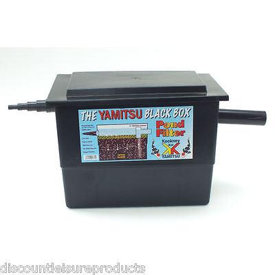 BASIC MEGA FILTER Black Box Koi//Fish Pond Filter System - Kockney Koi/Yamitsu