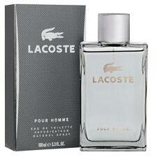 Lacoste Pour Homme Grey 100ml Eau de Toilette Spray
