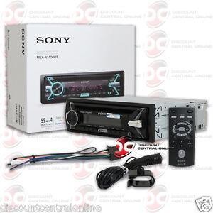 sony mex n5100bt 1din car wma mp3 cd player usb aux in. Black Bedroom Furniture Sets. Home Design Ideas