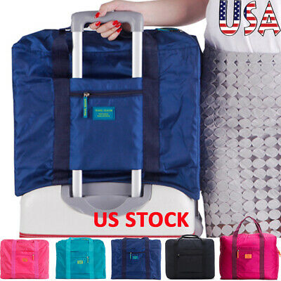 Portable Waterpoof Storage Foldable Luggage Carry-On Duffle Baggage Travel Bag