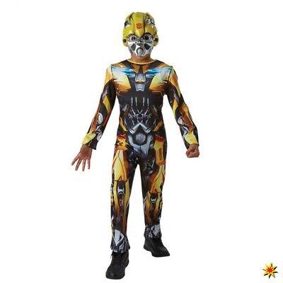 Kinderkostüm Bumble Bee Transformers 5 Roboter Fasching Karneval Lizenz