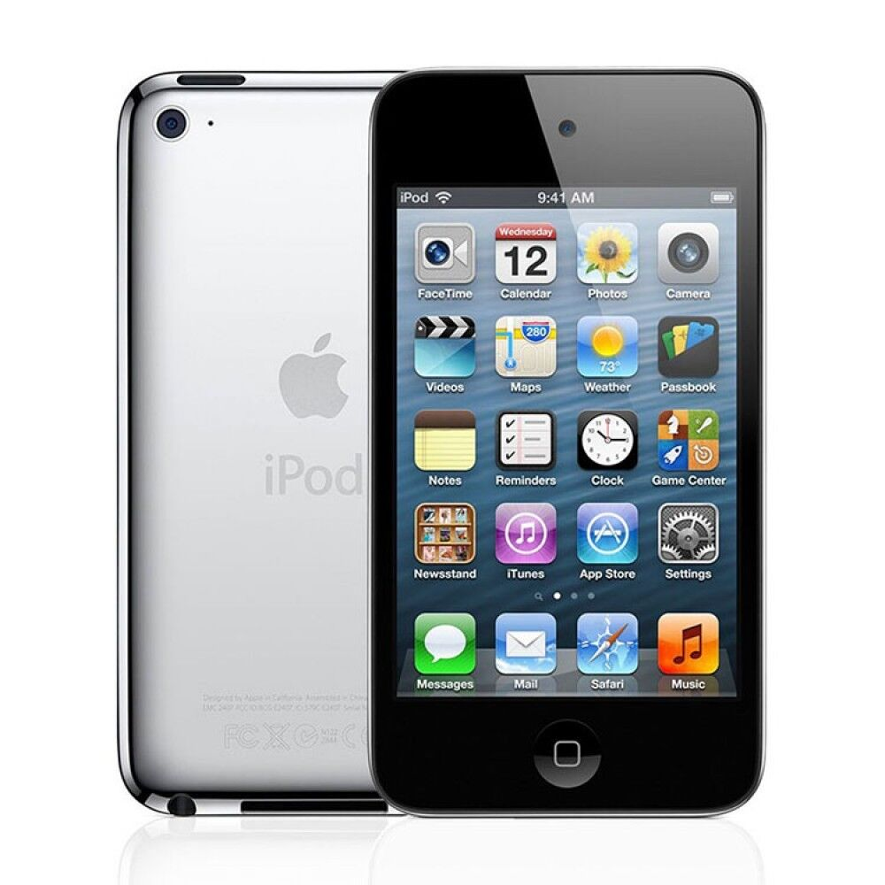 Apple iPod Touch 4th Generation Black (8 GB) - Tested - Bundle - A1367