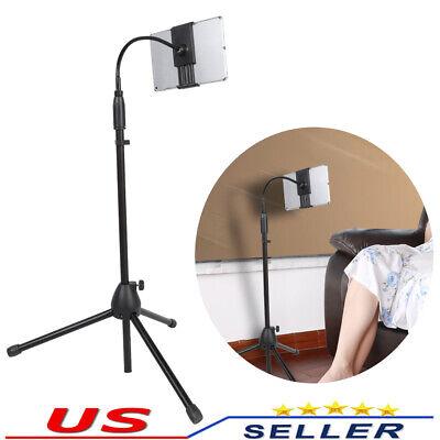 360° Adjustable Tripod Stand Holder Bracket For iPad Tablet Phone Floor Mounted