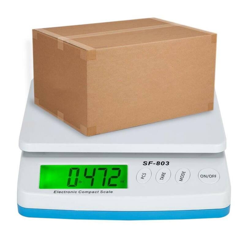 66lb x 0.1oz Digital Postal Shipping Scale 30kg Weigh Postage Counting + Adapter