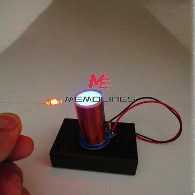180ma-380ma Dc4.5v Miniature 8050 Transistor Tesla Coil Arc Free Light-up Diy