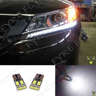 6000k LED Light Headlight Strip Bulbs Lights 2013 2014 2015 Honda Accord  #X7