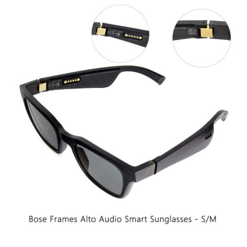 Bose Frames Alto Audio Sunglasses with Built-in Bluetooth Bose Speakers S/M