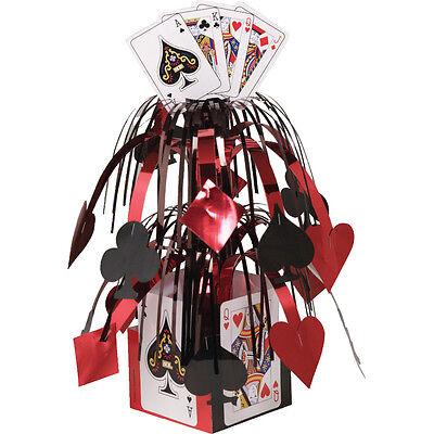 Casino Poker Karten Party Tisch Dekoration Kaskaden Kernstück