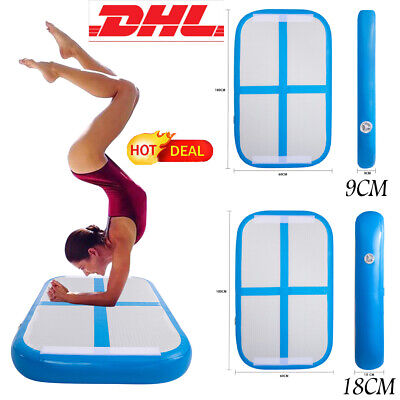 hot 1m air track inflatable tumbling gymnastics