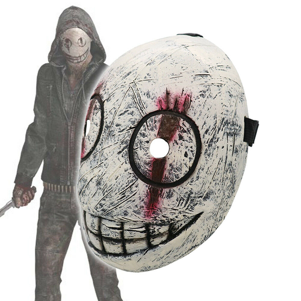 Dead by Daylight Legion Frank Cosplay Mask Scary Smile Pullover Props Halloween Accessories