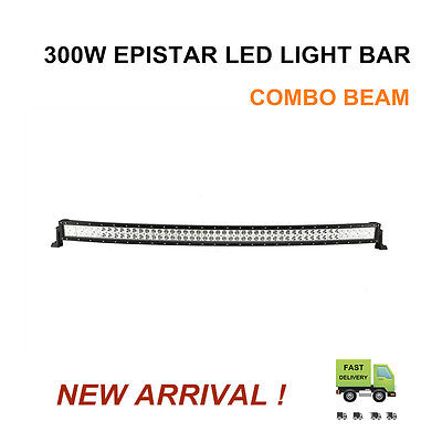 52INCH 300W LED CURVED Work up Simple-minded BAR Pour over Discern COMBO DRIVING OFFROAD 4WD