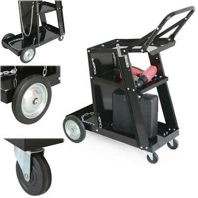 Mig Tig Arc Welder Welding Cart Universal Storage For Tanks Accessories Whandl