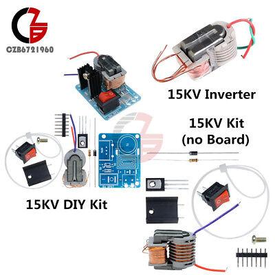 15KV Inverter High Frequency Generator High Voltage Coil Converter Boost DIY Kit