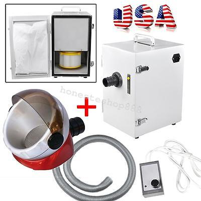 Portable Dental Industry Digital Dust Collector Vacuum Cleaner Free Suction Base