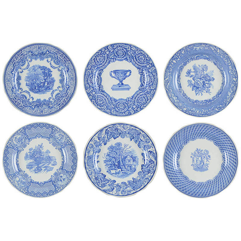 Spode Victorian Collection (Set of 6 Motifs) Dinner Plates 2126212