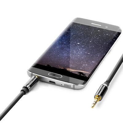 deleyCON PREMIUM HQ Stereo Audio Klinken Kabel / 3,5mm Stecker zu Stecker [10m]