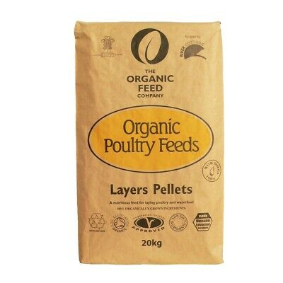 20KG - Allen & Page Organic Feed Company Layers Pellets - Chicken Bantam Feed