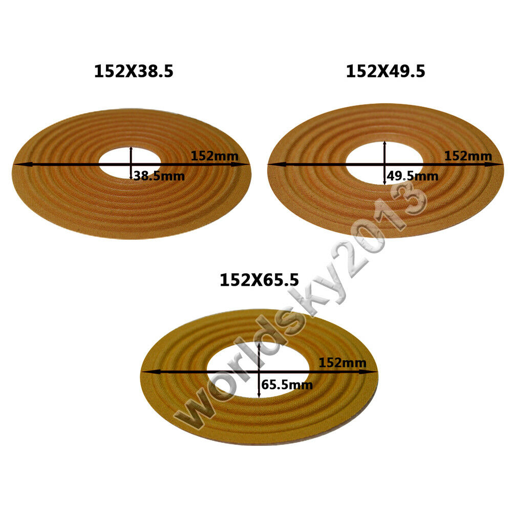 150x44.5//150x49.5//150x60//150x65.5mm Speaker Spider Damper Woofer Repair Parts