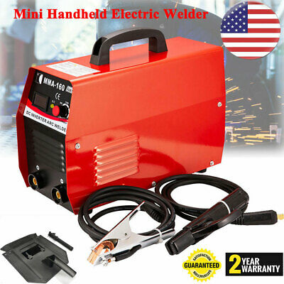 110v Inverter Welder Mini Handheld Arc Welding Machine Tool Mma 20-160a Igbt Us
