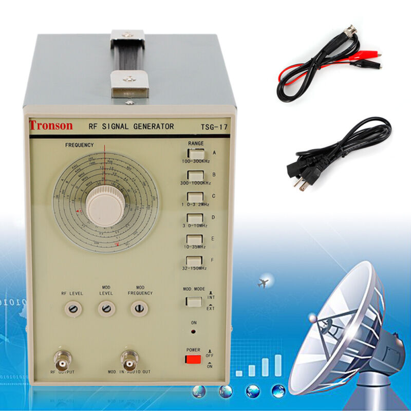 110V High Frequency Adjustable RF Signal Generator Radio Frequency 100kHz-150MHz
