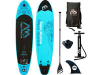 BRAND NEW Aqua Marina SUP Vapor Stand Up Paddle Board Mega Surfboard 2018 Inflatable ISUP