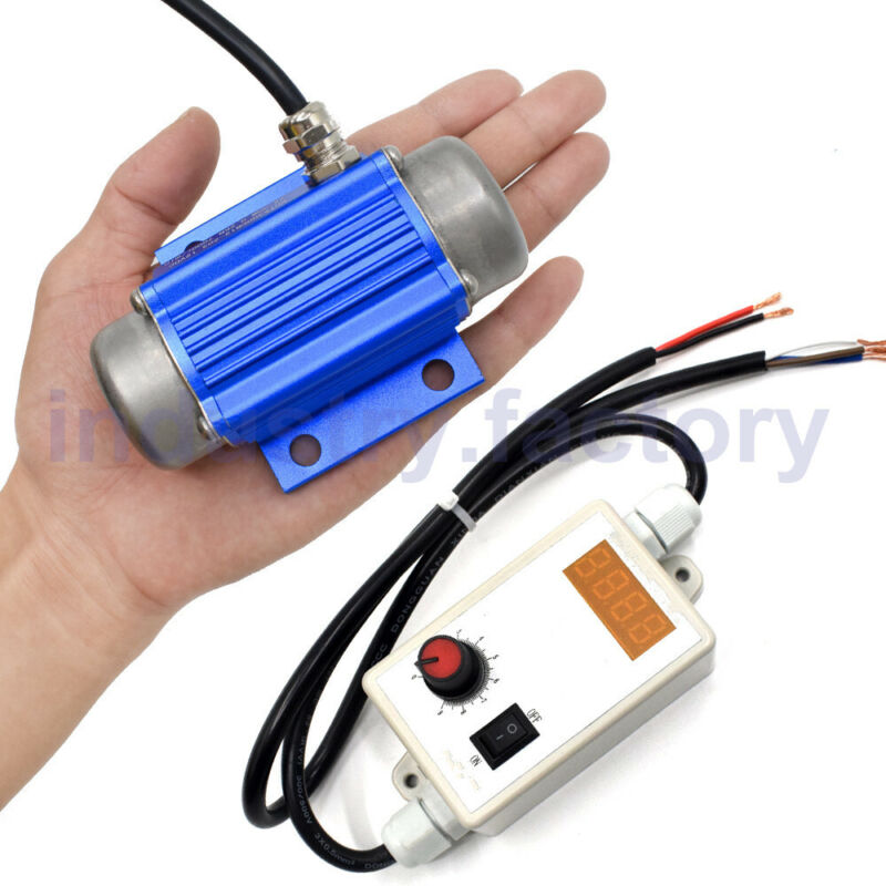 15W 24V DC Brushless Mini Vibration Motor and speed controller For Table Shaker
