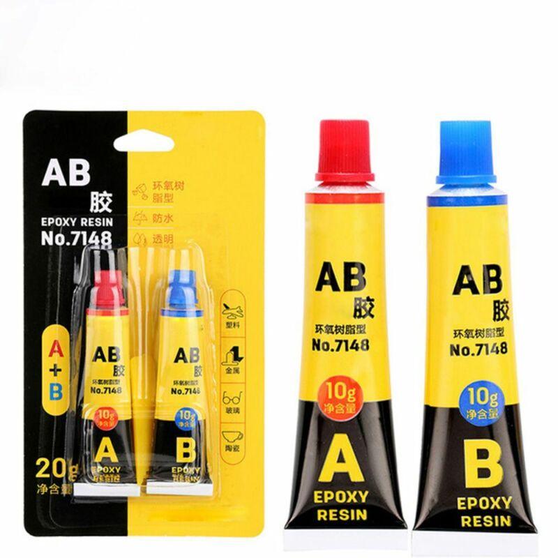 2 Set Epoxy Resin Glue Strong Adhesive Super Bond Hardener M