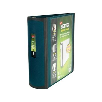 Staples Better 3-Inch D 3-Ring View Binder Dark Teal  399962