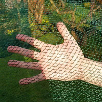 GREEN Butterfly Protection Netting Crop Veg Garden Anti Bird 8m Wide x 50m Long