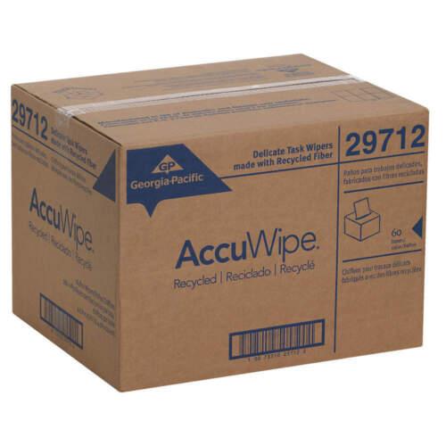 29712 Accuwipe Georgia Pacific Case/60 4.5 X 8.25 in.