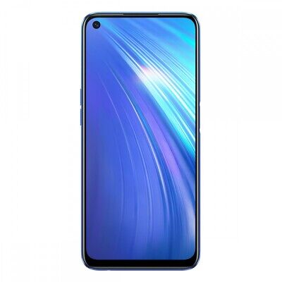 Realme 6 4GB RAM 128GB 6,5 Zoll Smartphone Handy Bluetooth LTE/4G Android Blue