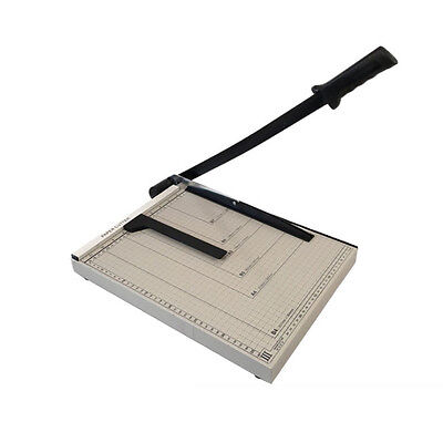 15x12 Guillotine Paper Cutter Blade Metal Base B4 Trimmer Scrap Booking Office