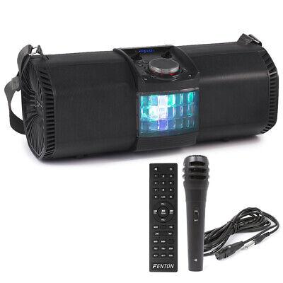 Fenton 178.317 MDJ150 Partystation Bluetooth Speaker 200W Battery and LED effect