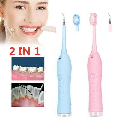 2 1 Electric Tooth Cleaner Dental Ultrasonic Scaler Handpiece Detachable Piezo