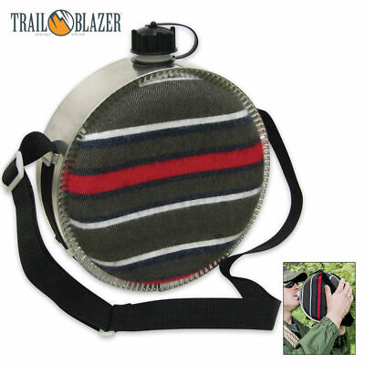 Stansport 4 Quart Desert Canteen Bladder Camping Hiking Outdoor Survival Water