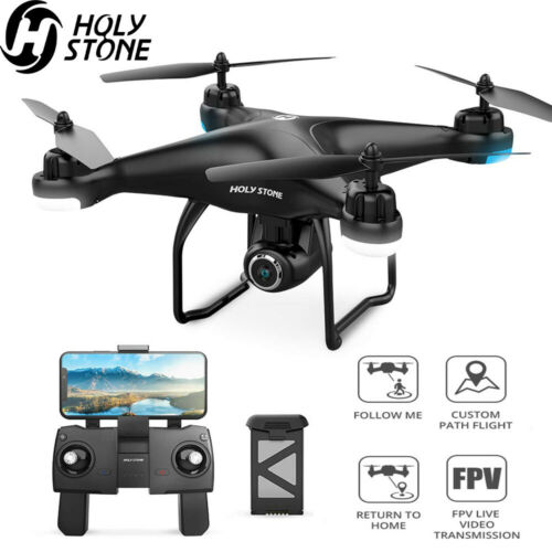 Holy Stone HS120D FPV Drones with 1080p HD Camera GPS RC Quadcopter Follow Me