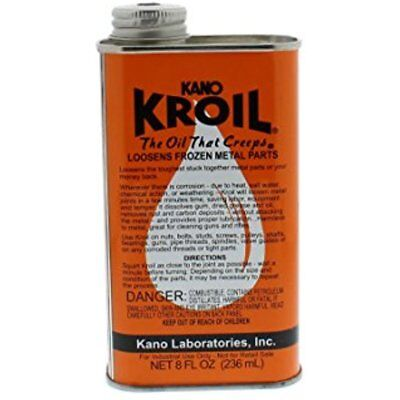Lubricants Kroil Penetrating Oil Oz. Liquid Kroil