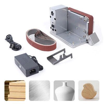 MINI máquina pulidora bricolaje lijadora banda eléctrica afilador herramientas