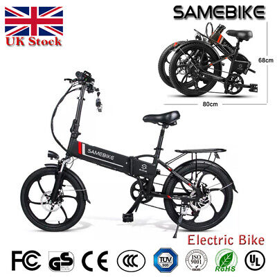 Samebike 20LVXD30 20 Inch Electric Bike Power Assist Electric Bicycle Remote